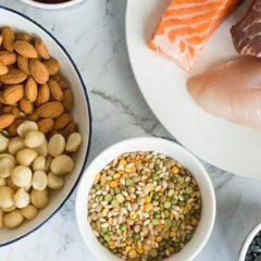 Aumenta el consumo de proteína con alimentos bajos en proteínas