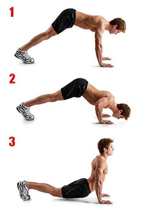 mejores ejercicios para pectorales en casa