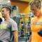 Serie de ejercicios para bíceps y tríceps