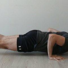 ¿Son sencillas las Flexiones con mano apoyada en la pared?