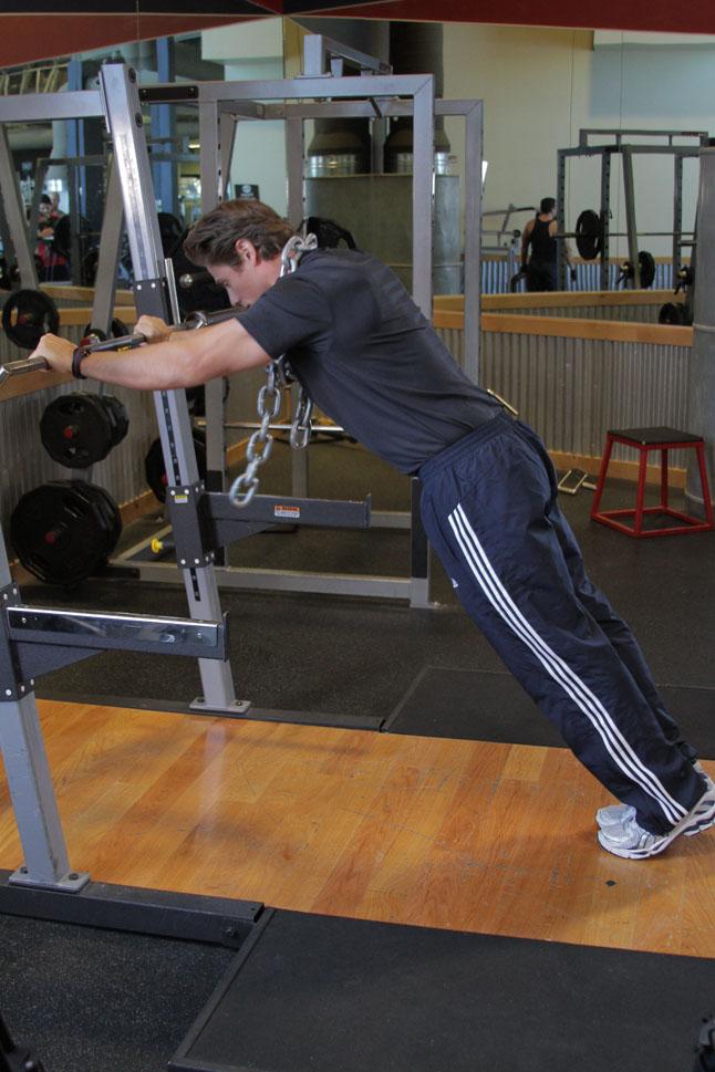 Press corporal de tríceps