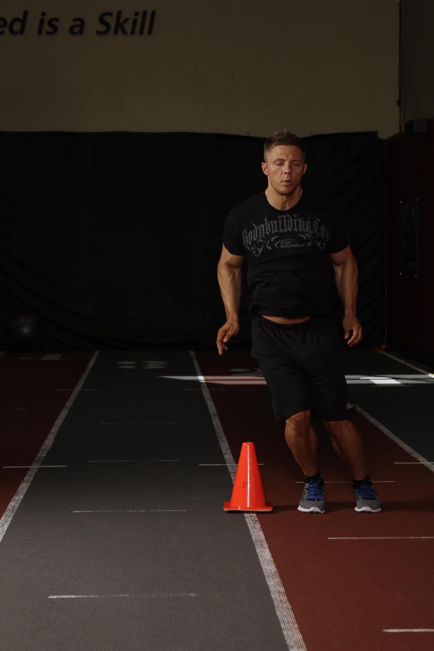 Salto-carrera lateral